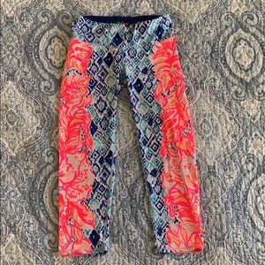Lilly Pulitzer Luxletic Crop Legging Size Small